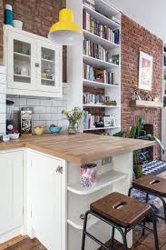 how to make a small kitchen island 9 ways to make islands and breakfast bars work in small kitchens