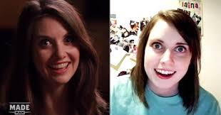 Attached Girlfriend Meme - alison brie is overly attached girlfriend meme