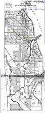 Chicago Wards Map by Chicago Ward Map Circa 1917