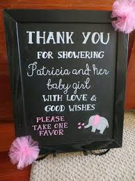 baby shower signs pink grey elephant baby shower favor sign s baby shower