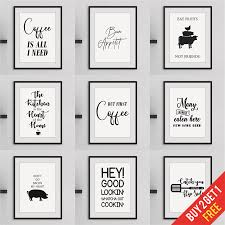 black and white prints for kitchen details about kitchen prints framed wall for kitchen quote prints black and white
