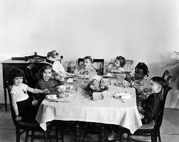 disney thanksgiving dinner the little rascals darla scotty beckett petey spanky