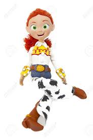 jessie yodeling cowgirl toy story stock photo picture