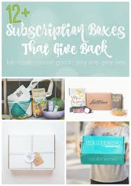 home decor subscription box 12 social good subscription boxes busy mommy