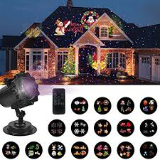 christmas projection lights unifun christmas decorations lights projector with blue