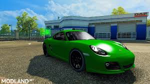 porsche cayman green porsche cayman mod for ets 2