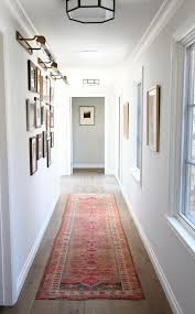 Hallway Color Ideas by Ideas To Make A Dark And Narrow Hallway Feel Lighter And Brighter