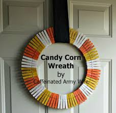 corn wreath simple and inexpensive caffeinated