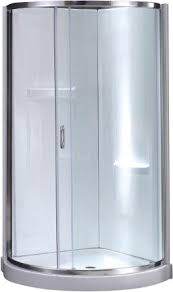 34 Shower Door Ove Decors Premium 34 X 34 X 76 Sliding Door Shower