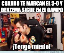 Spurs Memes - when the score is 3 0 and benzema is still on the marca english