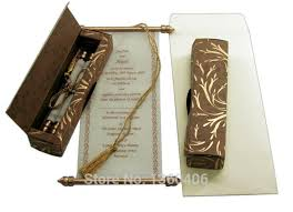 scroll wedding invitations scroll wedding invitations card wholesale party wedding india gold