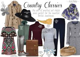 style country classics a thoroughly british capsule wardrobe