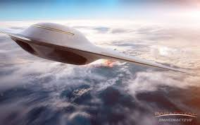 a hypersonic commercial plane that goes into space for insanely
