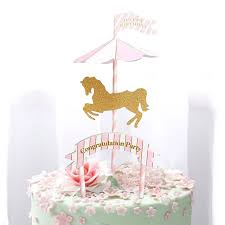 carousel baby shower 1pc carousel baby boy girl birthday party decoration kids