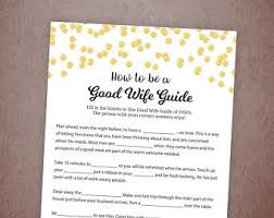 how to be good wife etsy
