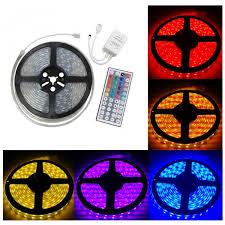 ip67 led strip lights yesa5050 rgbw 5m 5050 smd waterproof ip67 rgb led strip lights kit