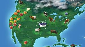 Hungry Shark Map Stonyfield Creates An Interactive Sourcing Map For Its Yogurt Ingredie