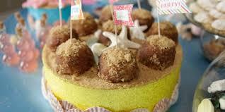 banana sand castle cupcakes recipes food network canada
