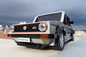 volkswagen lego lego volkswagen golf mk1 gti replica u2014 urdesignmag