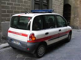 fiat multipla file florence patrol car of polizia municipale di firenze fiat