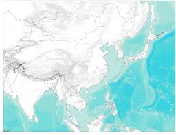 Blank East Asia Map by Blank Maps For Learning World Regional Geography U2013 Matthew Toro