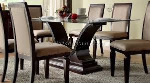 ruby leather dining room furtado furniture leather dining room