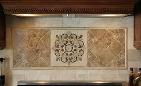Kitchen Medallion Backsplash Alluring Kitchen Hegle Tile Kitchens Backsplash Medallions And