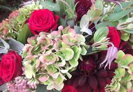 wedding flowers for october autumn wedding flowers sumptuous reds purples and greens the