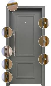 Residential Security Doors Exterior Decorative Residential Steel Security Doors With Many Finish