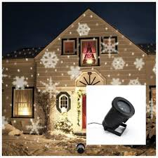 Light Flurries Snowflake Projector by Brand New Ip66 Outdoor Waterproof Led Laser Light Christmas White