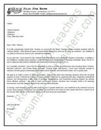 education consultant application letter sample education