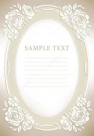 wedding invitation frame wedding invitation frame stock photo art321 6599707