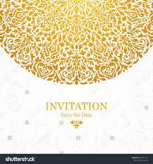 Floral Invitation Card Designs Elegant Greeting Card Design Vintage Floral Stock Vector 400131118