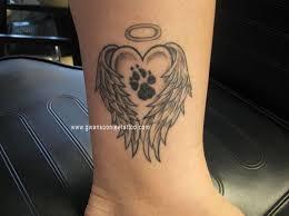 37 puppy paw tattoos ideas