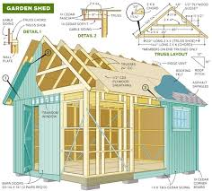 71 free garage workshop and carport plans and diy building guides
