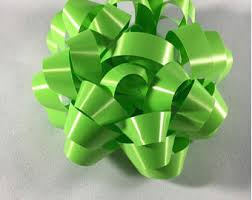green gift bow handmade gift bow etsy