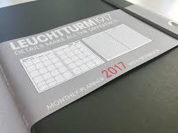 leuchtturm 1917 notebook leuchtturm1917 b5 composition monthly planner notebook