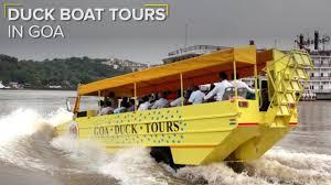 amphibious vehicle duck goa u0027s new amphibious u0027duck boat u0027 that got our invisible tails