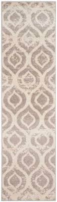 Mauve Runner Rug Amsterdam Ogee Ivory Mauve Runner Rug Mauve Ivory And Power Loom