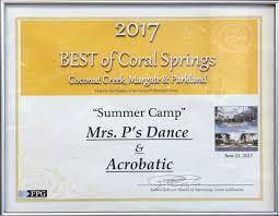 mrs p u0027s dance u0026 acrobatic studios inc coral springs fl