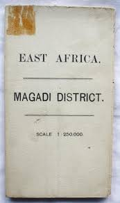 Map Of Eastern Africa by Ordnance Survey Military Map Of East Africa Protectorate Magadi