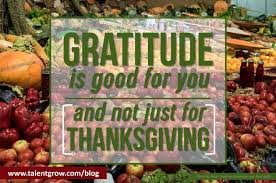 gratitude is for you and not just for thanksgiving