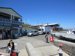 half moon bay black rock yacht club pier and eateries picture of