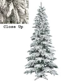 fake christmas trees with snow 6ft 18m green slimline snow