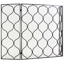 lattice fireplace screen at home at home