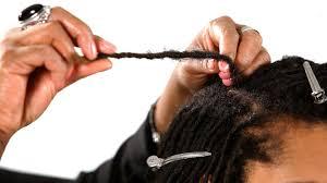 interlocking hair how to do the interlocking method get dreads