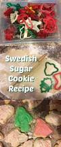 frosted swedish sugar cut out cookie recipe cookie recipes