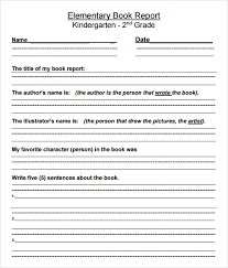 grade book report template 2nd grade book report template 2 professional and high quality