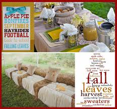 Fall Party Table Decorations - triyae com u003d fall backyard party ideas various design