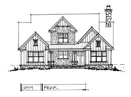 Two Story Craftsman Conceptual House Plan 1459 Two Story Craftsman Houseplansblog